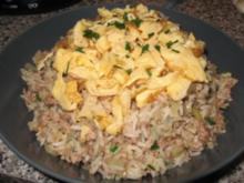Gebratener Reis nach siamesischer Art - Rezept