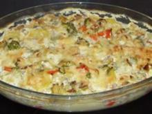 Vegetarisches - Kartoffel-Gemüse-Auflauf - Rezept