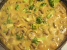 Gemüse in Curry-Erdnuss-Kokossauce - Rezept