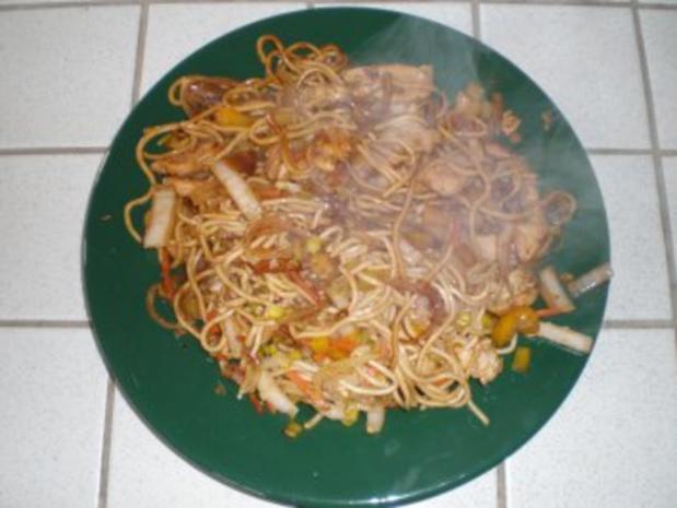 Alwins chinesische Nudeln - Rezept - Bild Nr. 7