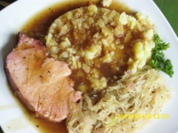 Fleisch: Kasslerschmorbraten und Sauerkraut - Rezept - Bild Nr. 4