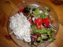 Rinderschmorbraten mit Kartoffelstock, Gemüsesauce und gemischtem Salat - Rezept