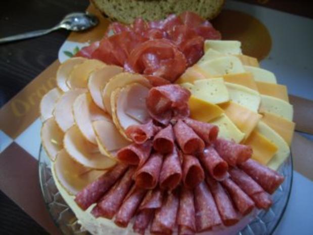 Herzhafte Brottorte - Rezept - Bild Nr. 6