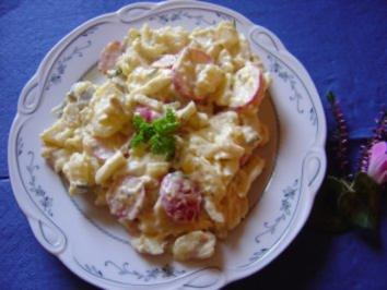 Rezept: Volkers bunter Kartoffelsalat... frisch und nicht so fettig...