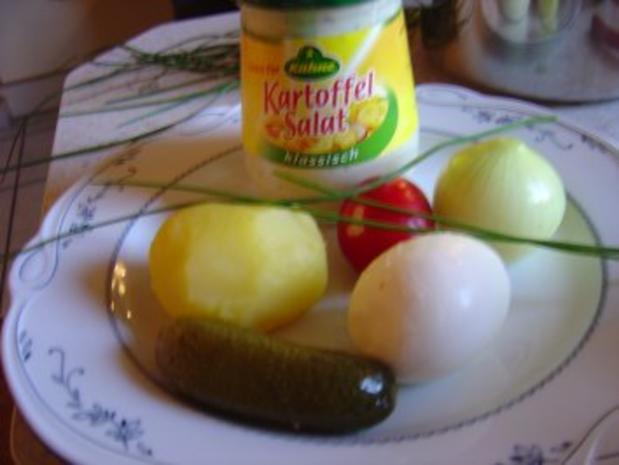 Volkers bunter Kartoffelsalat... frisch und nicht so fettig... - Rezept - Bild Nr. 2