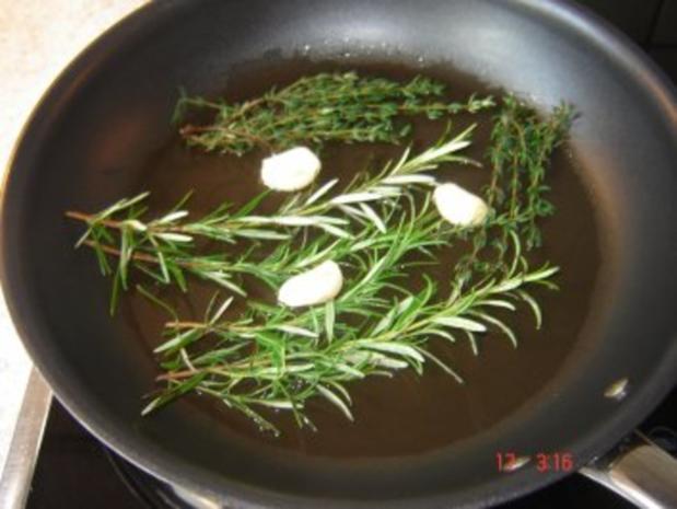 Lammmedaillons mit Rahmsoße - Rezept - Bild Nr. 2