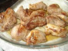 Lammmedaillons mit Rahmsoße - Rezept