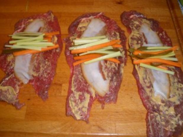 Fleischgerichte - Meine Rindsrouladen - Rezept - Bild Nr. 2