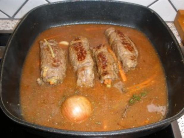 Fleischgerichte - Meine Rindsrouladen - Rezept - Bild Nr. 5