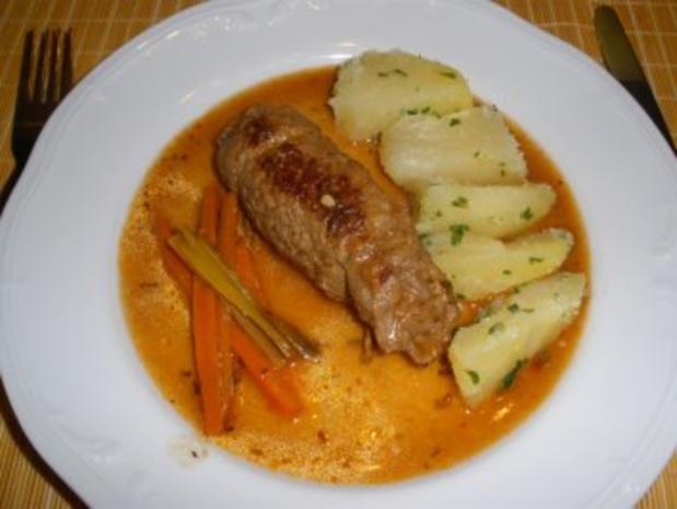Fleischgerichte - Meine Rindsrouladen - Rezept
