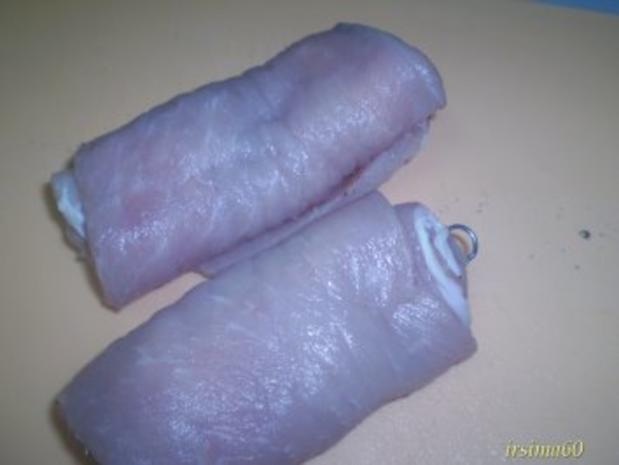 Schweinerouladen lecker gefüllt - Rezept - Bild Nr. 4