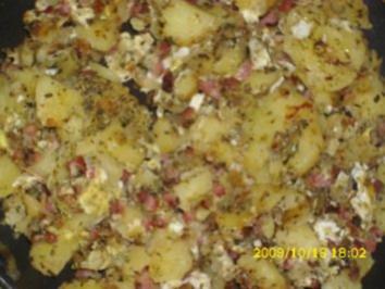Resteküche: Bauernfrühstück - Rezept
