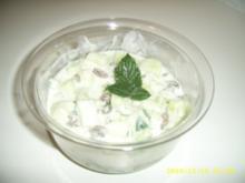 Orient - Gurkensalat - Rezept