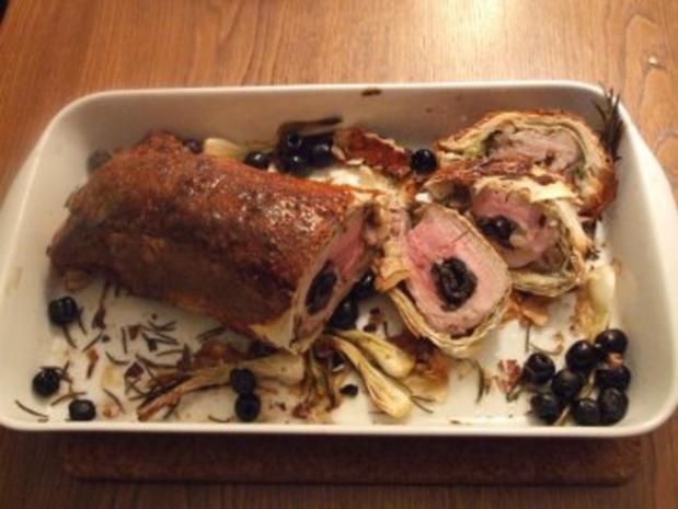 Gefülltes Schweinefilet im Mantel - Rezept - Bild Nr. 2
