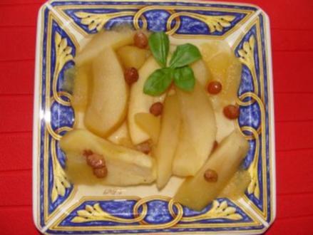 Nachtisch - Apfelkompott de luxe - - Rezept