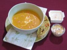 Erdnuss-Karotten-Suppe - Rezept
