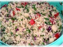 Salat - Couscous-Petersilien-Salat - Rezept