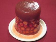 Wein-Erdbeer-Gelee-Turm - Rezept
