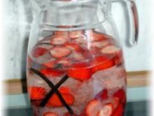 Angesetzter - Erdbeerlikör - Rezept