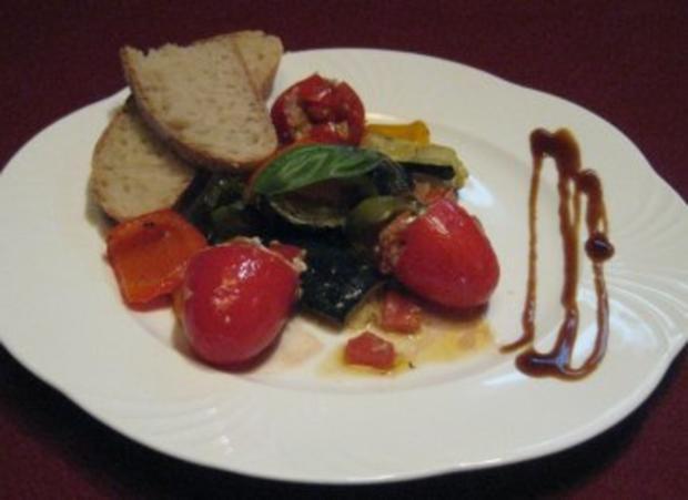 Verdure mediterrane - Rezept