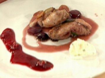 Rebhuhn mit Weintrauben und Sauce Cumberland a la Henssler - Rezept