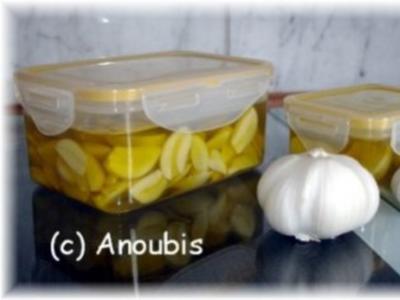 Eingelegtes - Eingelegter Knoblauch - Rezept
