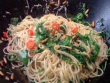 """Bavette con aglio, olio e peperoncino """"speciale"""" - genannt: AOP - Rezept"""