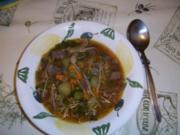 Roastbeef-Gulaschsuppe - Rezept