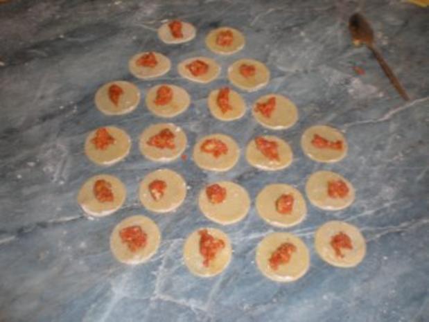 Tortellini selbstgemacht  mit Käsesoße s - Rezept - Bild Nr. 4