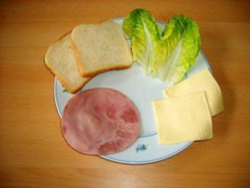 Fastly Schinken- Käse-Toast - Rezept
