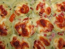 Kartoffelbrei-Gratin - Rezept