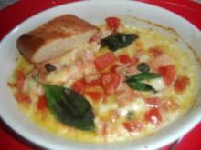 Fischfilet caprese - Rezept