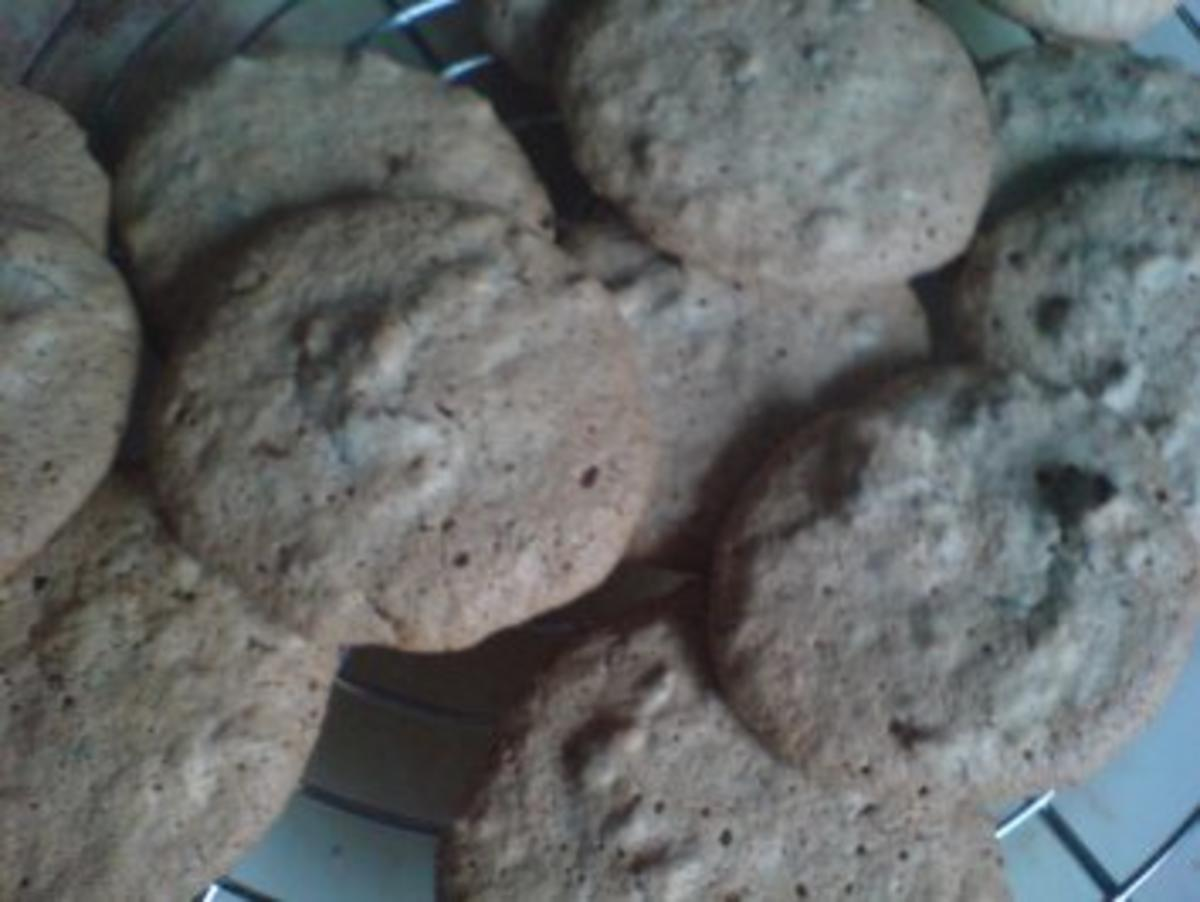 Kekse / Plätzchen - Mandel-Knusper-Makronen - Rezept von nanuuk