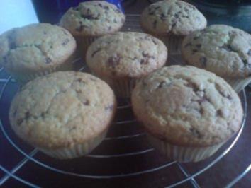 """Muffins """"Kokosmilch-Schokostreusel"""" - Rezept"""