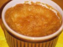 Mangocreme mit Karamellkruste - Rezept