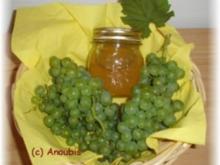 Brotaufstrich - Weintraubengelee mit Weisswein - Rezept