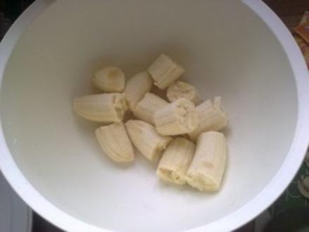 Bananen Schoko Kuchen - Rezept