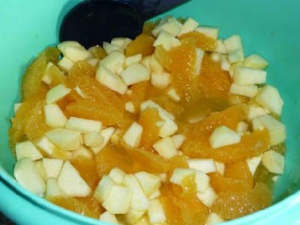 Orangen-Apfel-Quarkspeise - Rezept - Bild Nr. 7