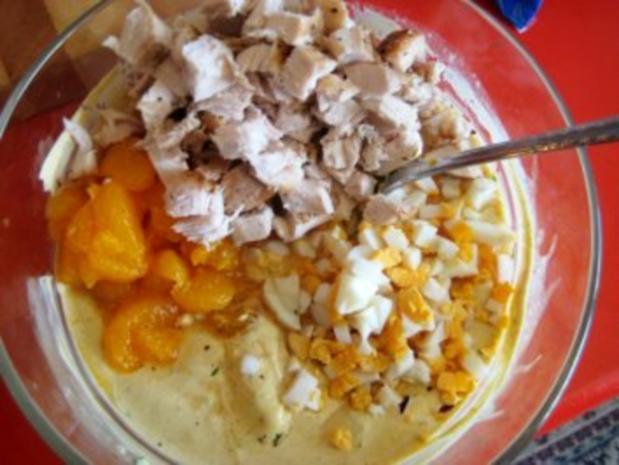 Curry-Hühnchen-Sandwiches - Rezept - Bild Nr. 5