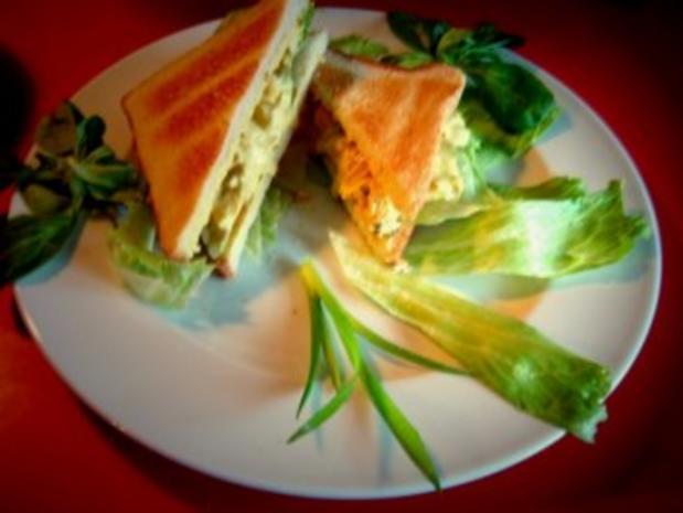 Curry-Hühnchen-Sandwiches - Rezept - Bild Nr. 2