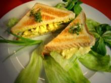 Curry-Hühnchen-Sandwiches - Rezept