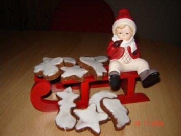 Rezept: Weihnachtsplätzchen : Schokoladenbrötchen