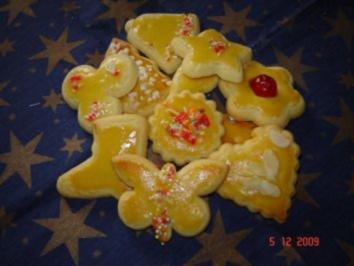 Rezept: Weihnachtsplätzchen : Buttergebäck
