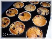 Kuchen/Gebäck - Beeren-Muffins - Rezept