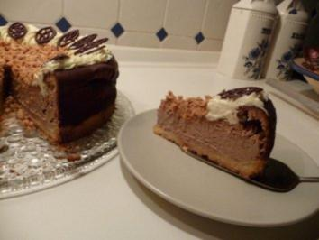Schokoladenkäsekuchen mit Amarettini - Rezept