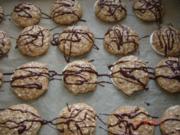 Weihnachtsplätzchen : Lebkuchen-Makronen - Rezept