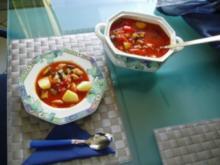 Gemüse-Puten-Gulasch - Rezept