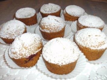 Käsekuchen-Kirsch-Muffins - Rezept