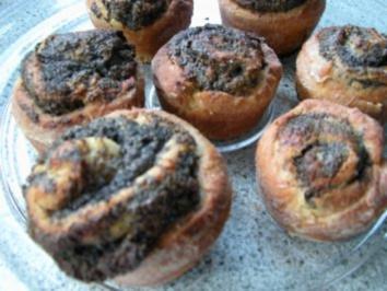 Marzipan-Mohn-Muffins - Rezept
