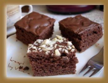 Brownies ohne Fett - Rezept